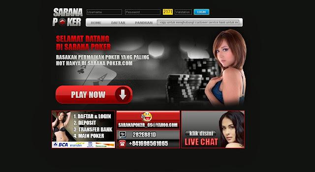 daftar judi poker online uang asli saranapoker