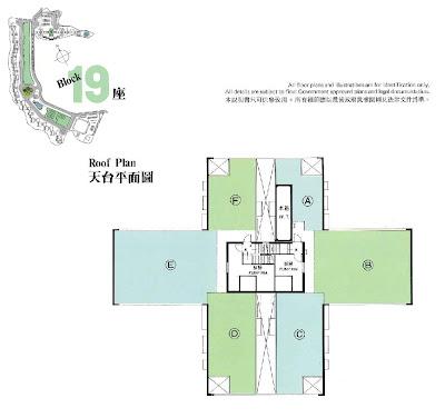 華景山莊第十九座平面圖