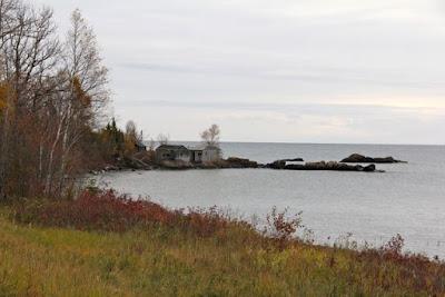 a quiet cove, Lake Superior