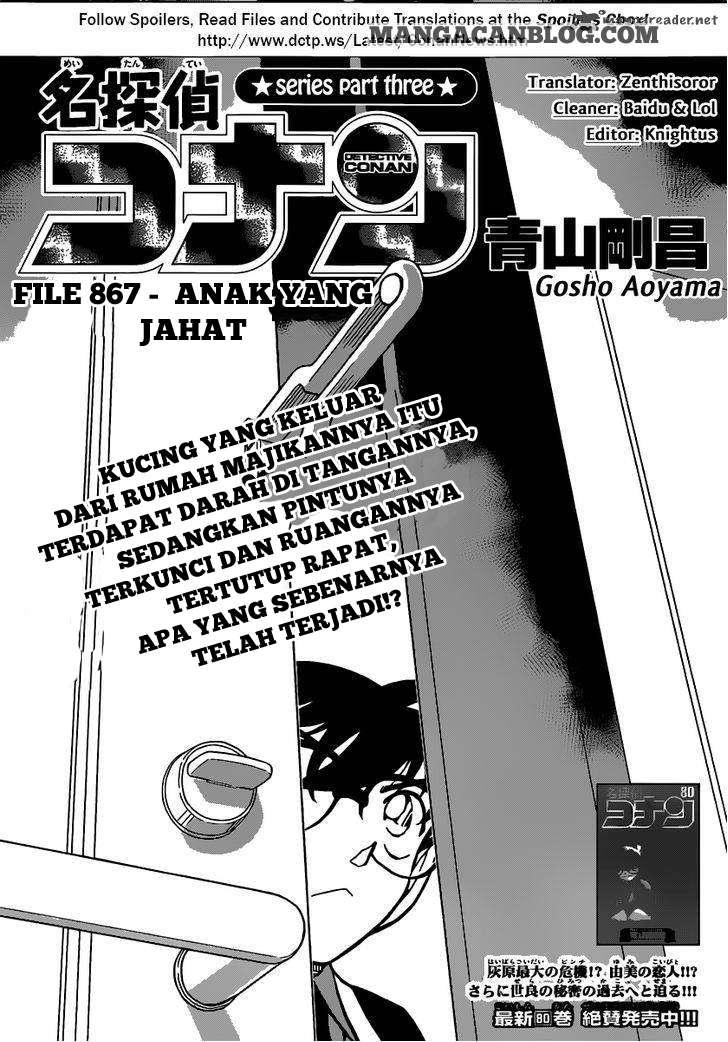 Dilarang COPAS - situs resmi www.mangacanblog.com - Komik detective conan 867 - anak yang jahat 868 Indonesia detective conan 867 - anak yang jahat Terbaru |Baca Manga Komik Indonesia|Mangacan