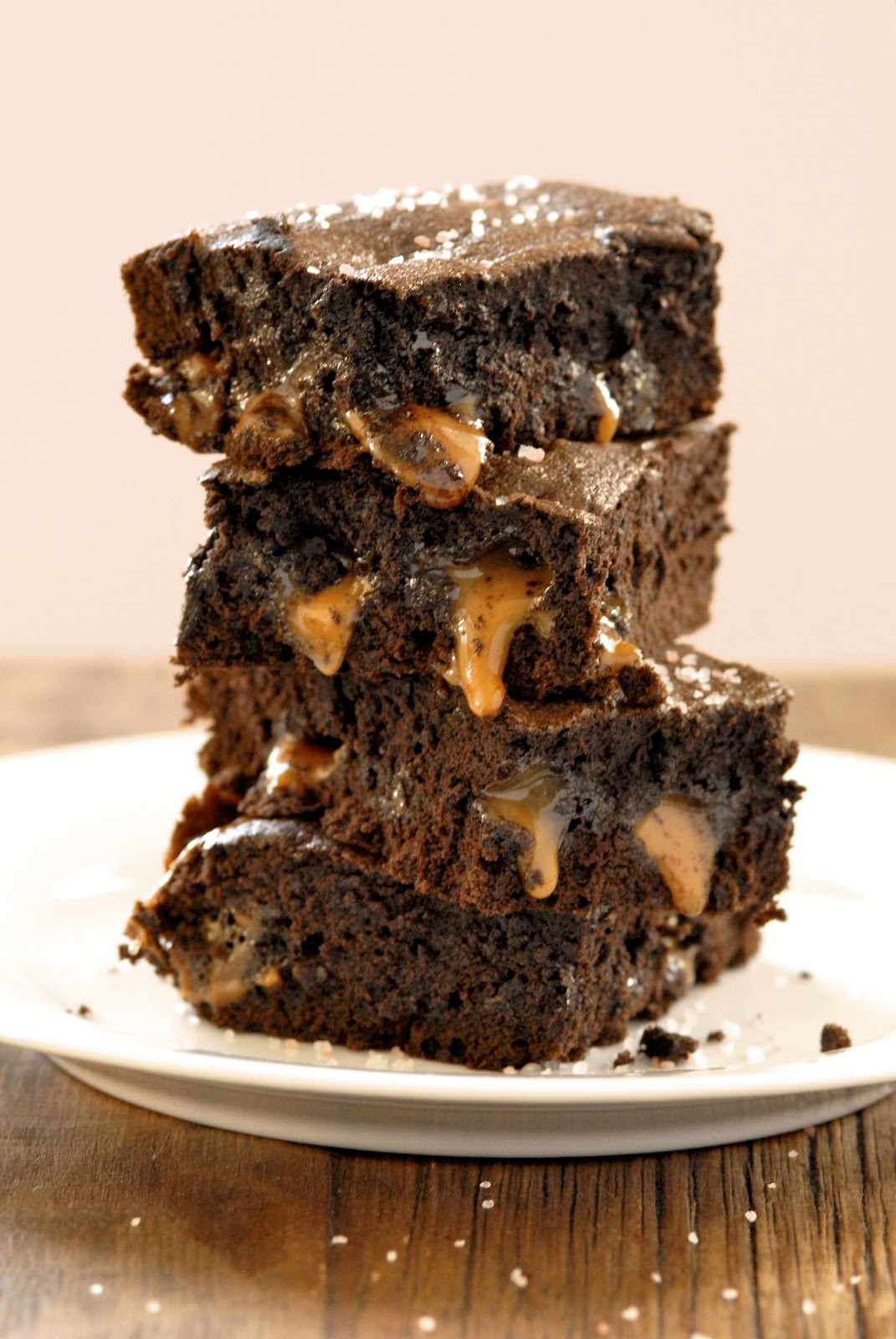 Gluten-Free Ratio Rally: Salted Caramel Brownies