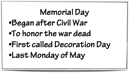 What Do I Know?: What's The Difference Between Memorial ...