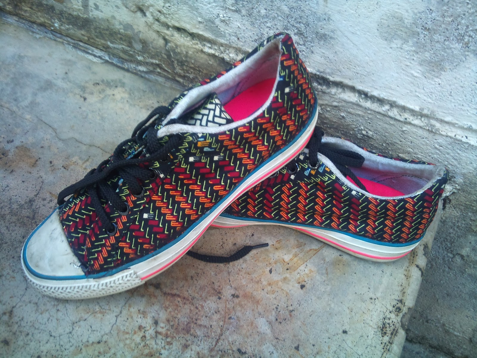 African Print Shoes Men