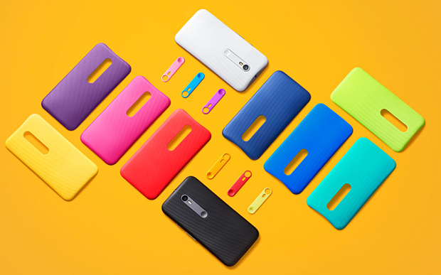 Moto G different colors.