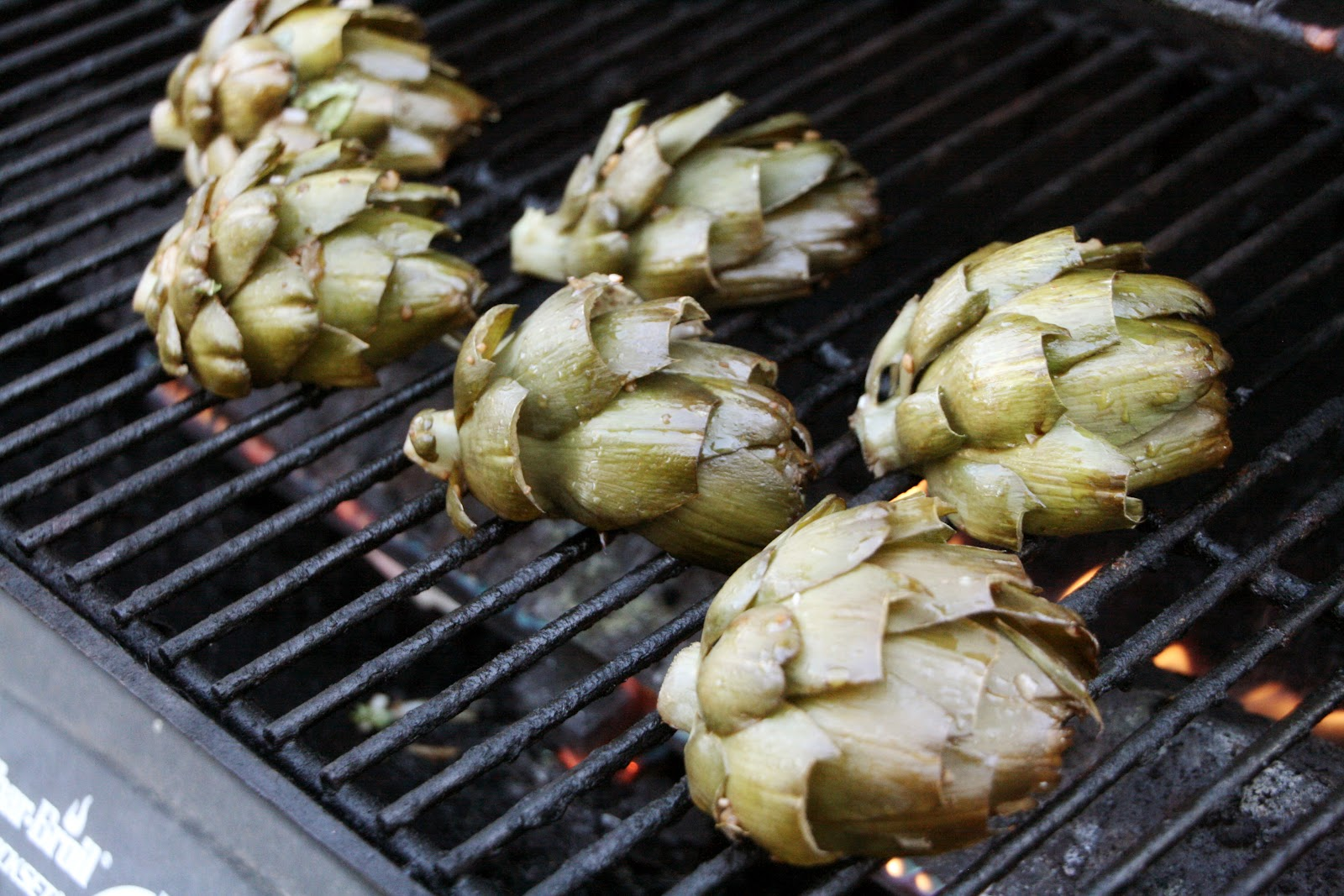 Love from the Kitchen: Recipe - Grilled Artichokes with Herb Aioli
