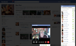 Facebook/Skype Video Chat 1st Looks