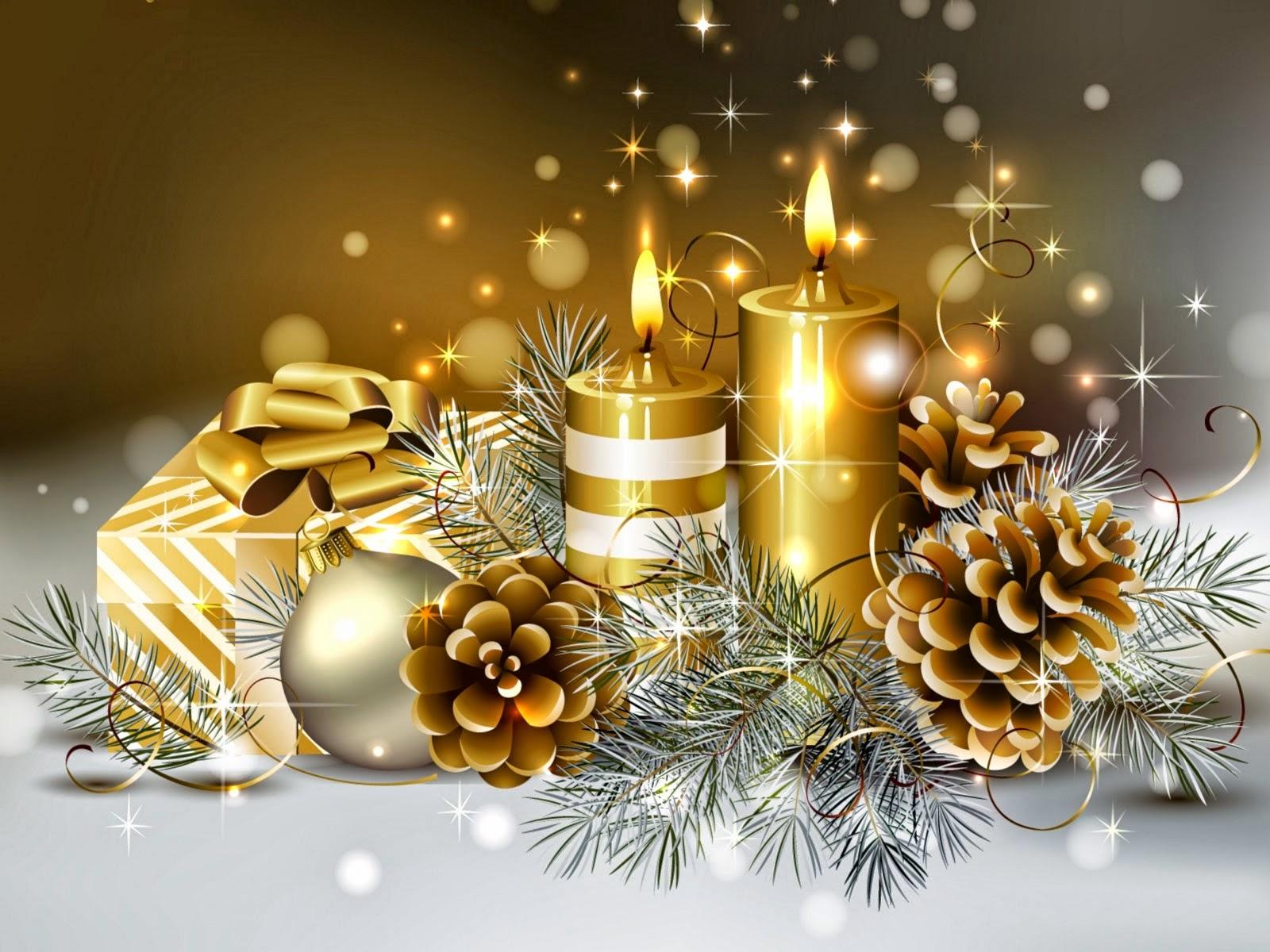 Velas De Navidad Colorido Velas Santa Claus Cumpleaos Velas Navidad - Velas-de-navidad