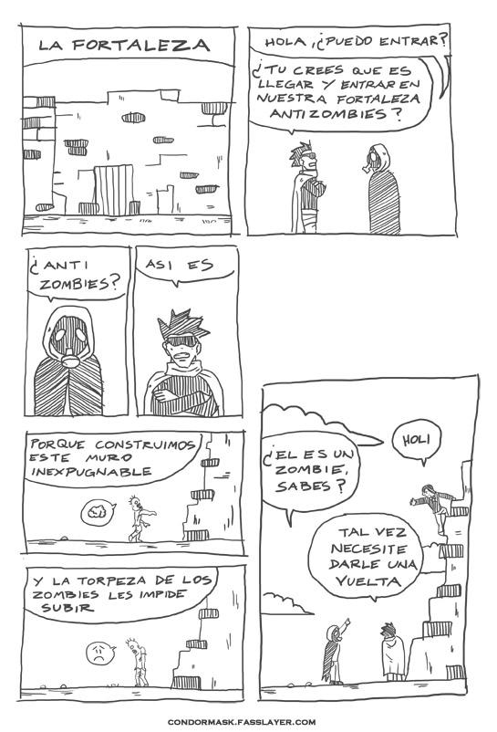 condormask comic