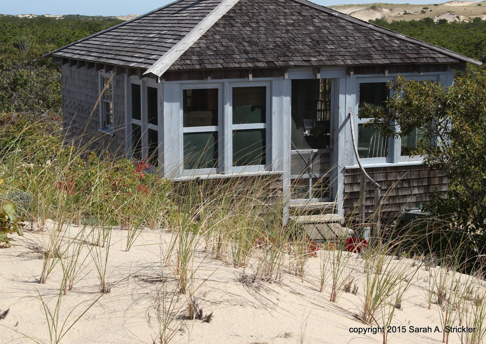 Dune Shacks Cape Cod Part - 32: A Restored Dune Shack And One Of The More Palatial Ones