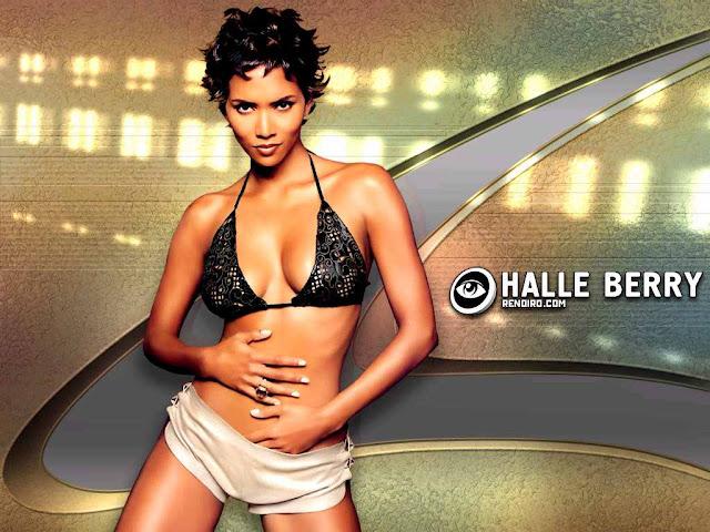 Super Model Halle Berry