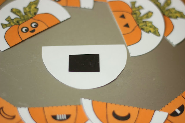 Pumpkin Magnets for Toddler Busy Bag