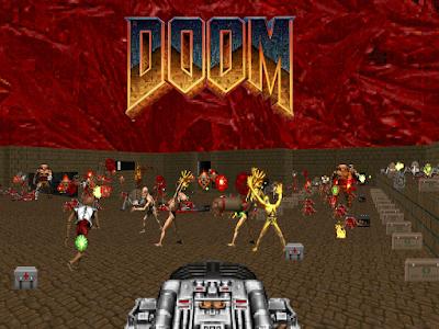 Wallapaper partida Doom