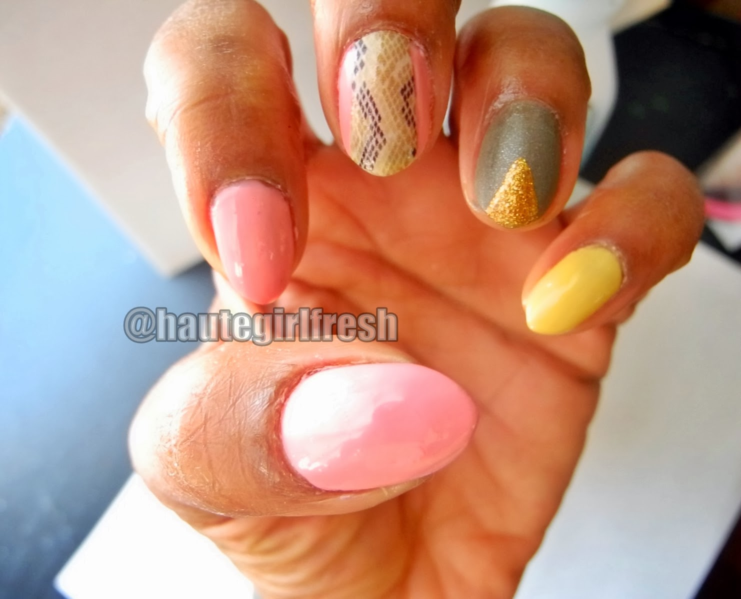 hautegirlfresh: #typeAjawn | MANIc Monday - Nails Inspired by Nicki ...