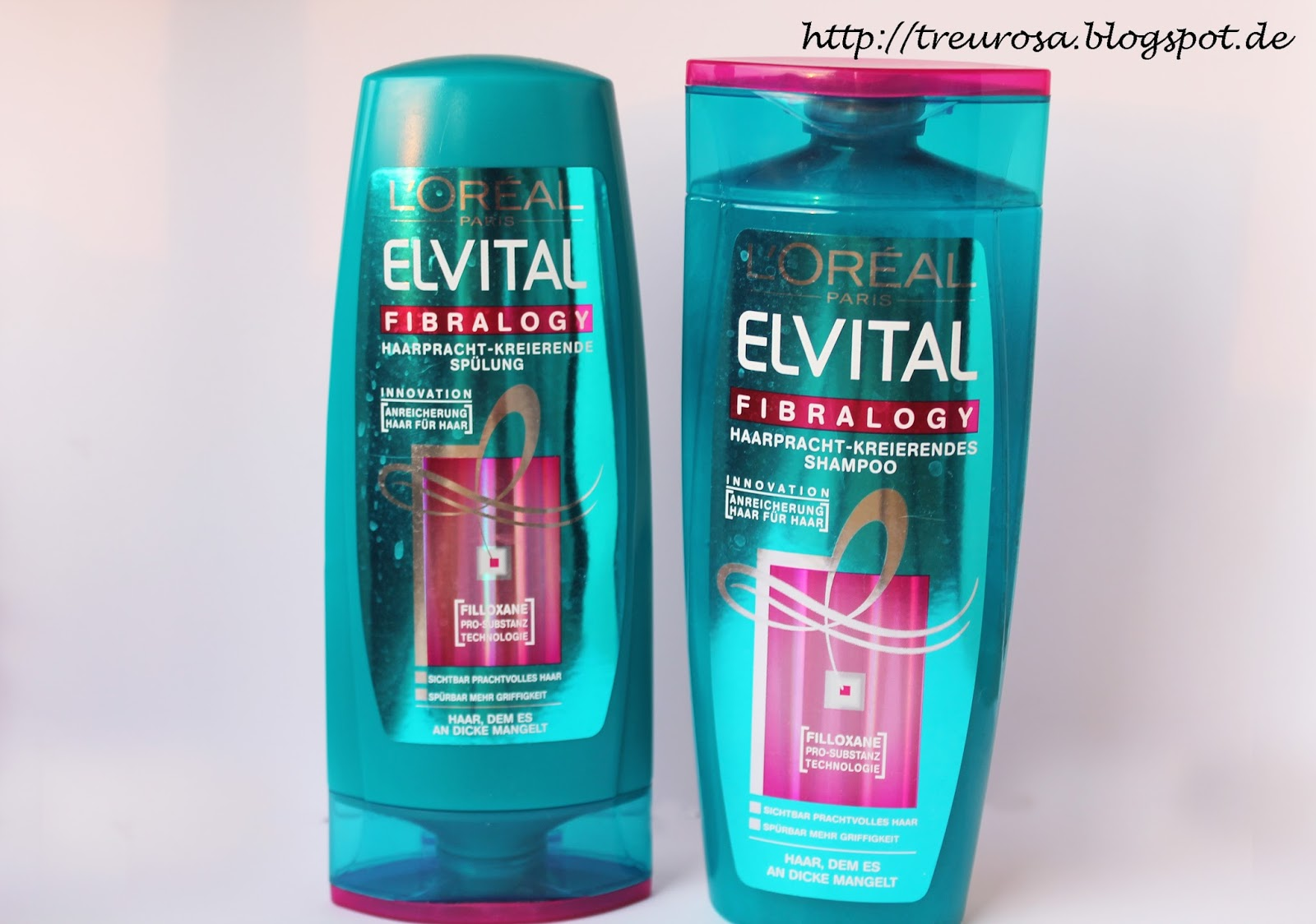 treurosa im test l or al elvital fibralogy shampoo und. Black Bedroom Furniture Sets. Home Design Ideas