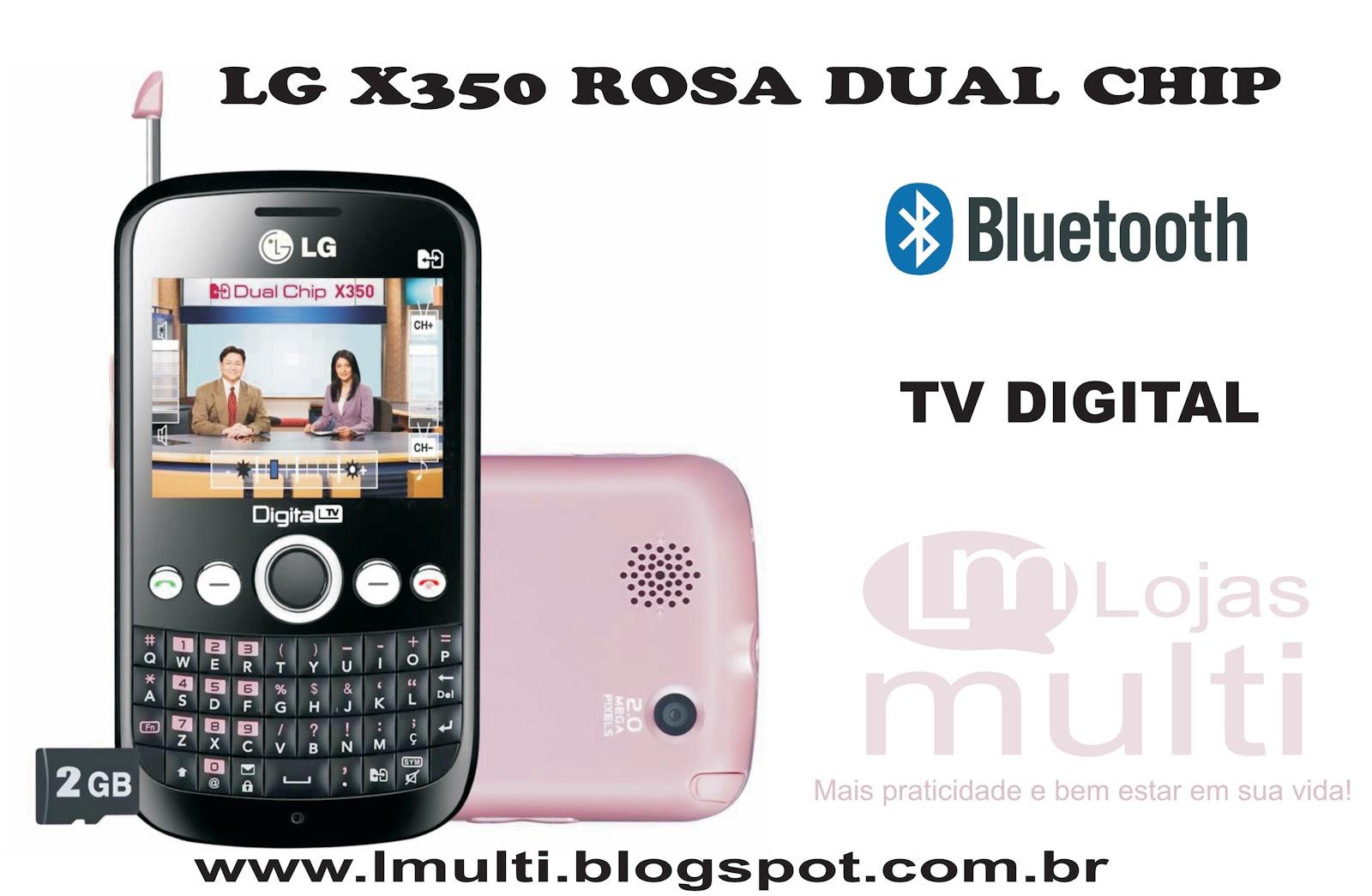 imagens para celular lg x350 - Celulares LG X350 ROSA Compre Online Girafa