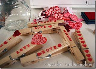 spinacze dla zakochaneych dekoracja diy