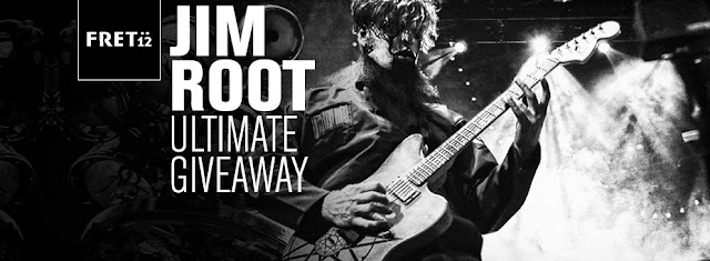 Jim Root Giveaway 2015 Fret12