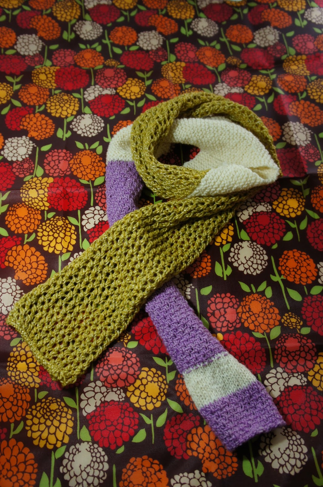 Knitting Yarn Over Before Purl Stitch : Eatinglemonknitknitknit op scarf knitting pattern