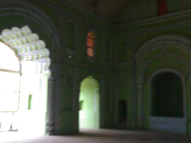 Inside Bara Imambara, Lucknow
