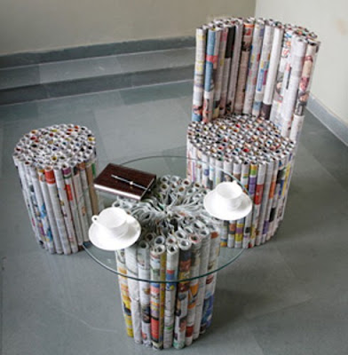 Creative and Cool Ways to Reuse Old Newspapers (30) 19
