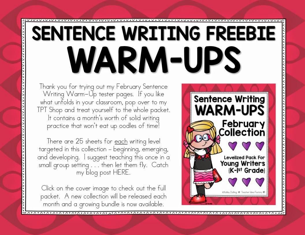 writing warm ups