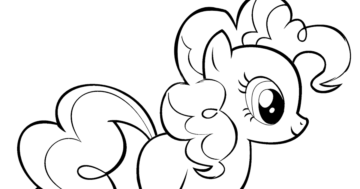 Coloring Pages Of Le Pie My Little Pony Pinkie