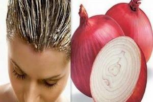 خلطة عصير البصل والعسل لعلاج تساقط الشعر