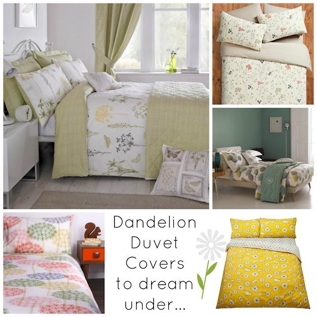 Dandelion Duvet Covers to Dream Under
