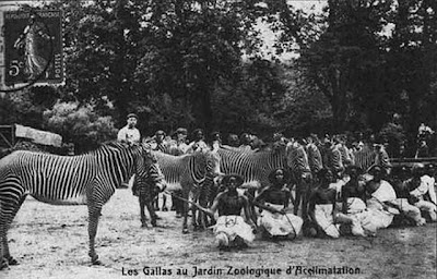 Human Zoos or Negro Villages Seen On www.coolpicturegallery.us