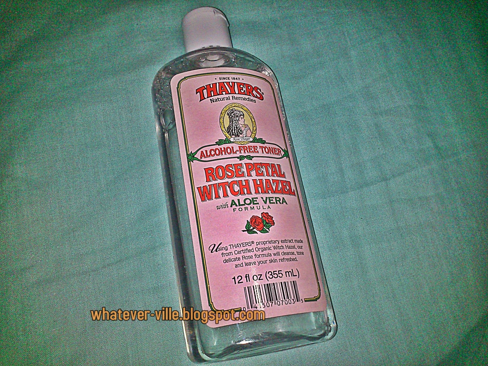 Thayers Witch Hazel Alcohol Free Toner Review Product iHerb com