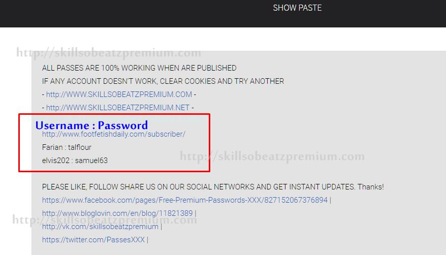 How Do I Get Porn Passwords4