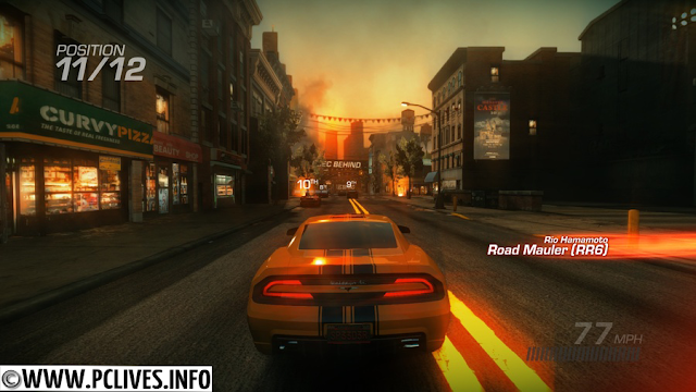high Ridge Racer Unbounded 2012