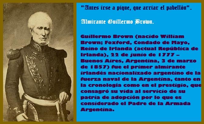 LA SABIDURÍA DEL ALMIRANTE GUILLERMO BROWN.