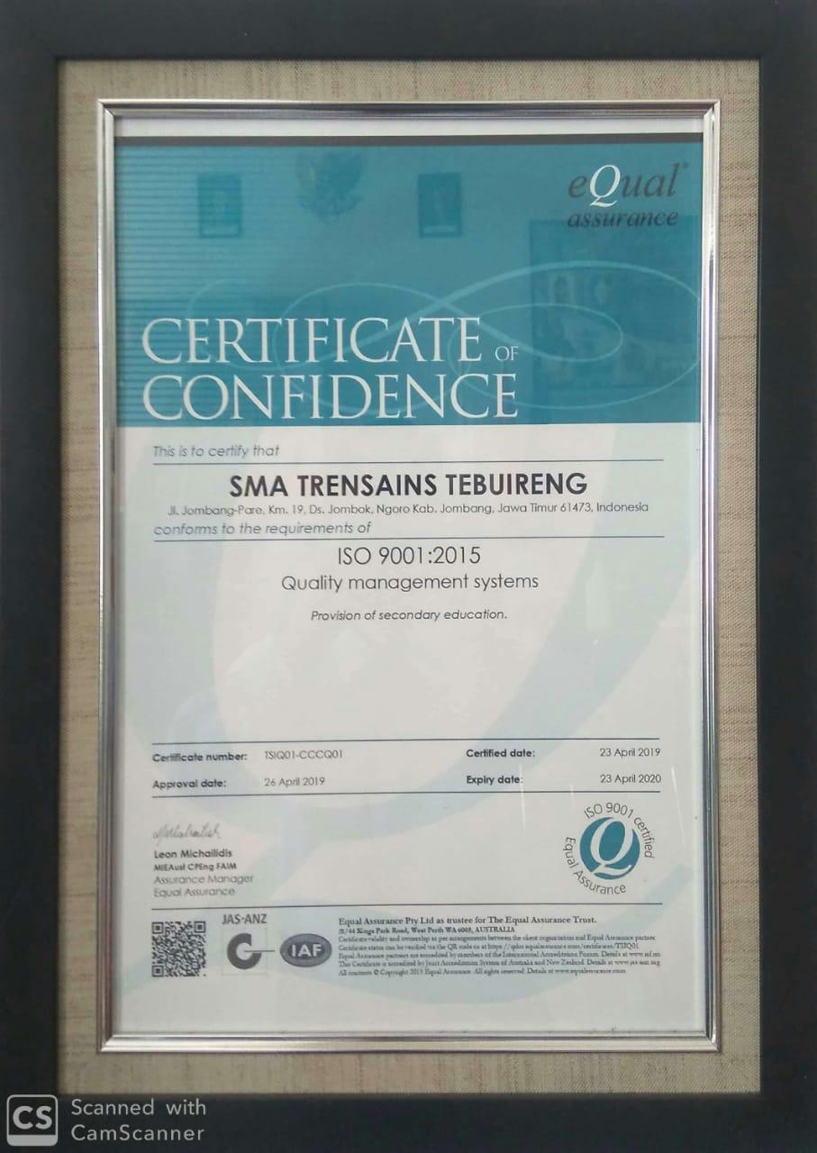 ISO TRENSAINS