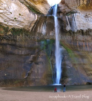 Lower Calf Creek Falls in Grand Staircase Escalante National Monument