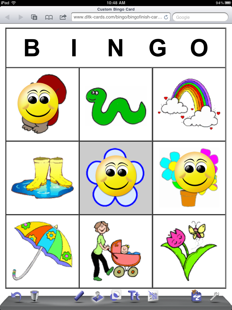 the early intervention playground doodle buddy bingo