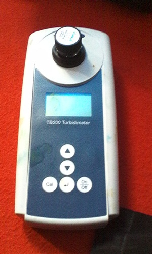 Portable turbidi meter
