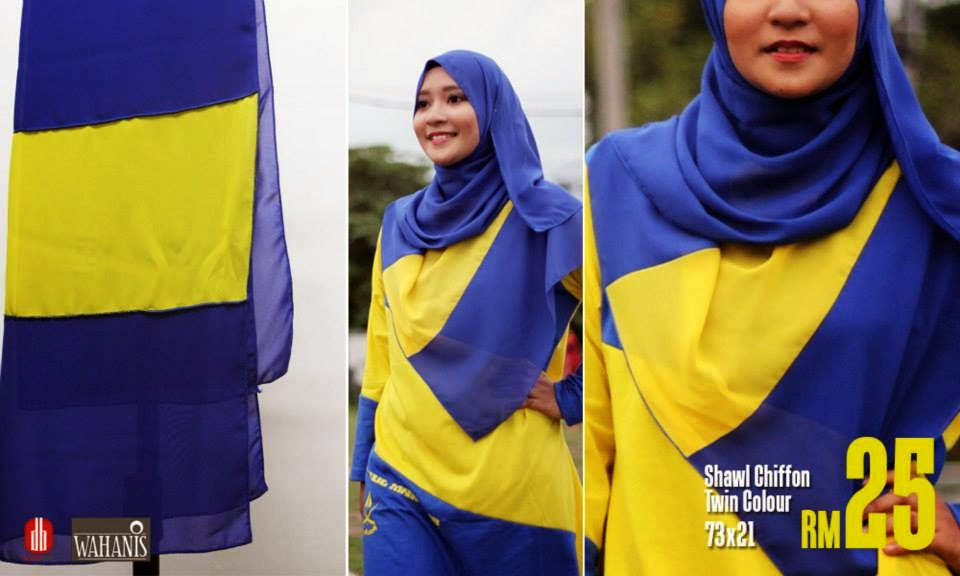 fesyen muslimah peminat bolasepak