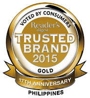 Reader's Digest Most Trusted Brands 2015