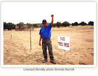 Big Mountain Dine' Warrior Leonard Benally Passes to Spirit World