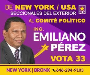Emiliano al Cp del pld vota 33