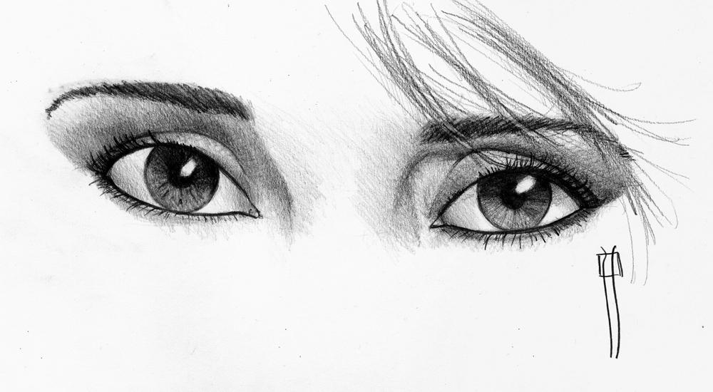 Dibujos de Ojos a Lapiz  Vida Blogger