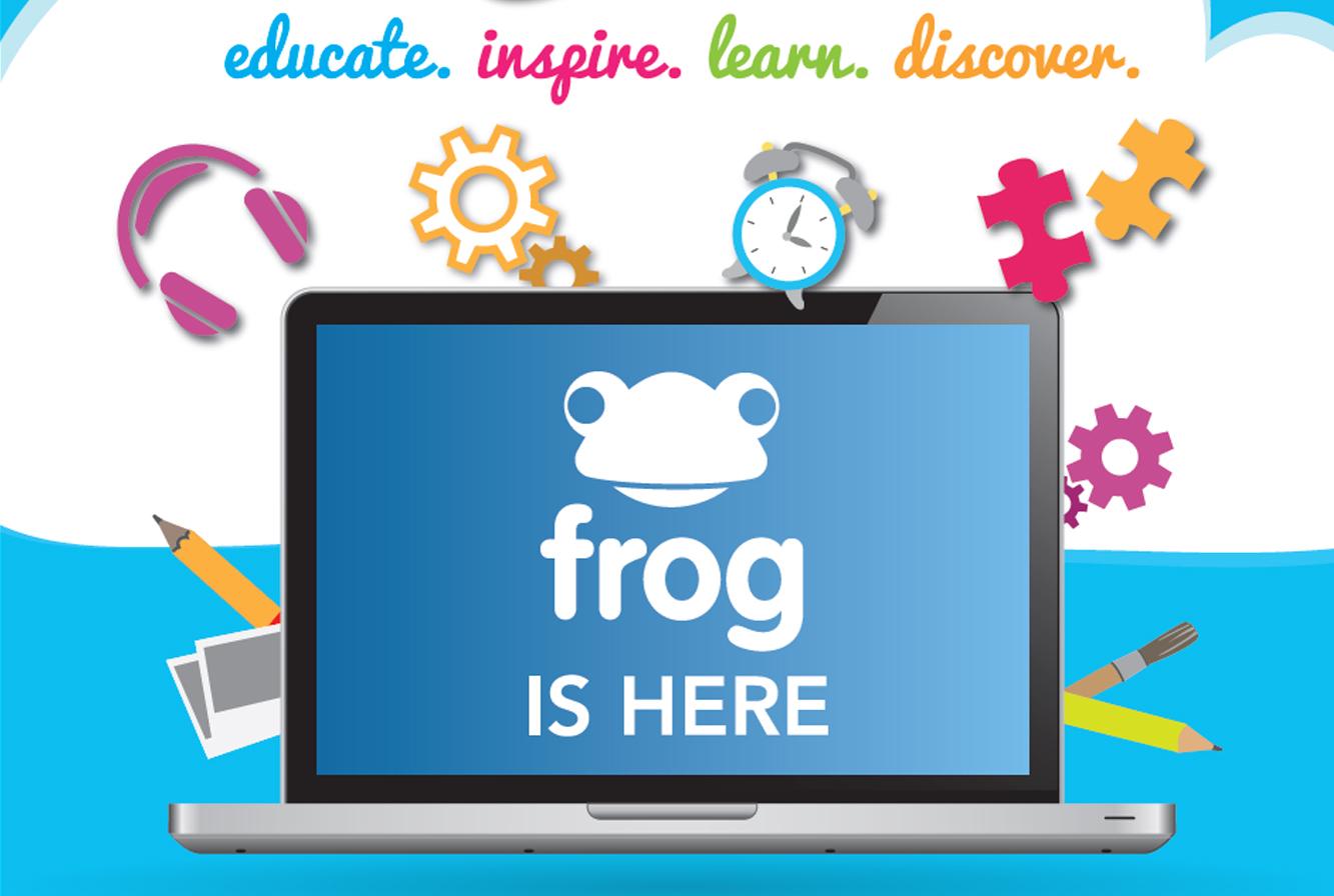 ... idea untuk menggalakkan ibu bapa menggunakan paltform Frog VLE