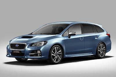 Subaru Levorg GT (2016) Front Side