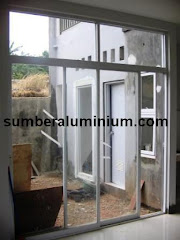 Kusen Aluminium Pintu Geser
