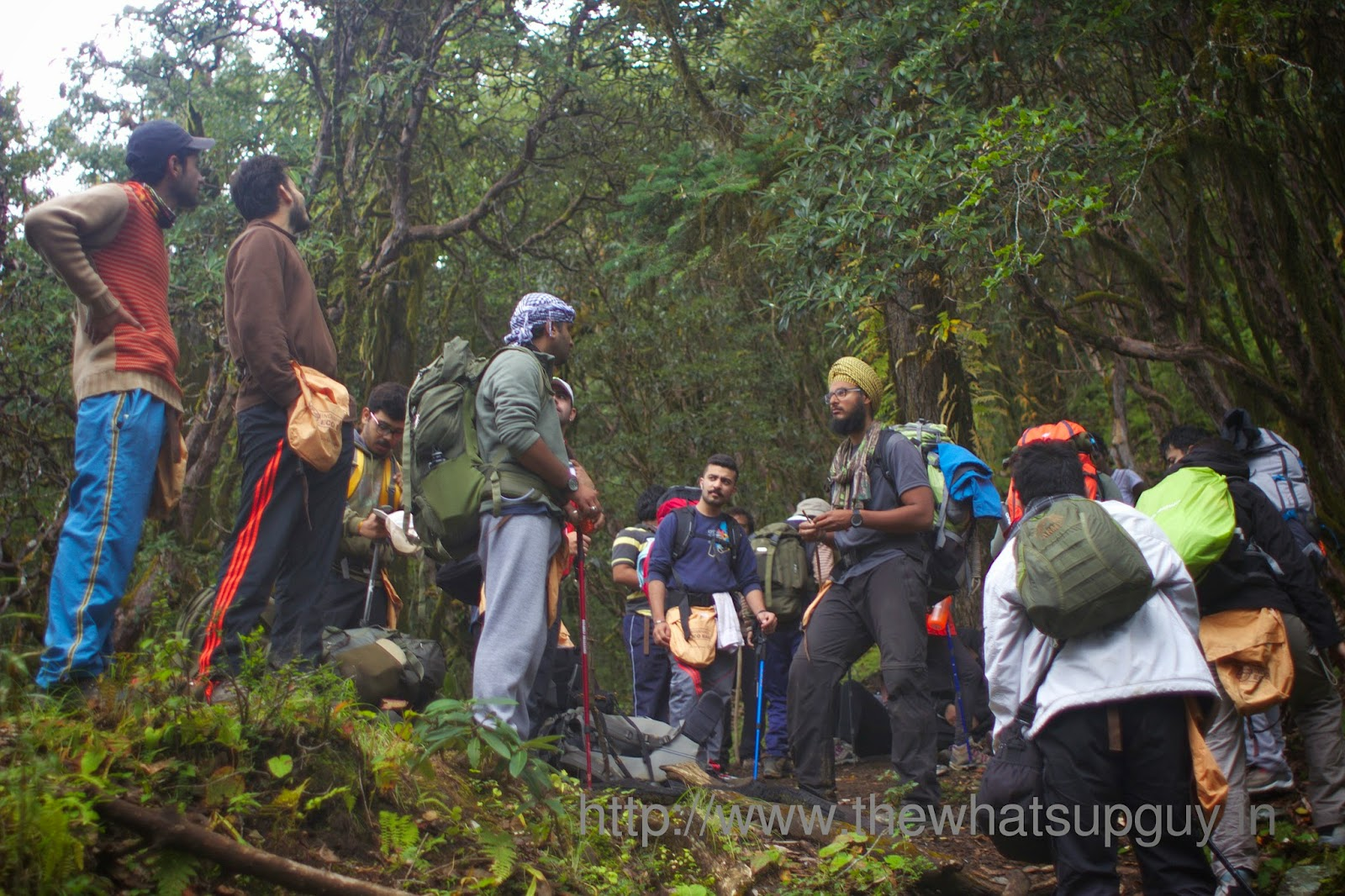 Halt-Roopkund-Trek-With-India-Hikes-Day-2