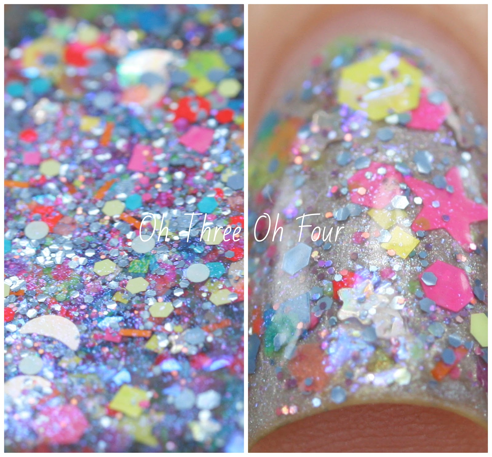 Lynnderella Once in a Blue Unicorn swatch