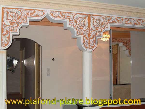 Faux plafond platre 2014 d coration et design for Decoration gorge en platre