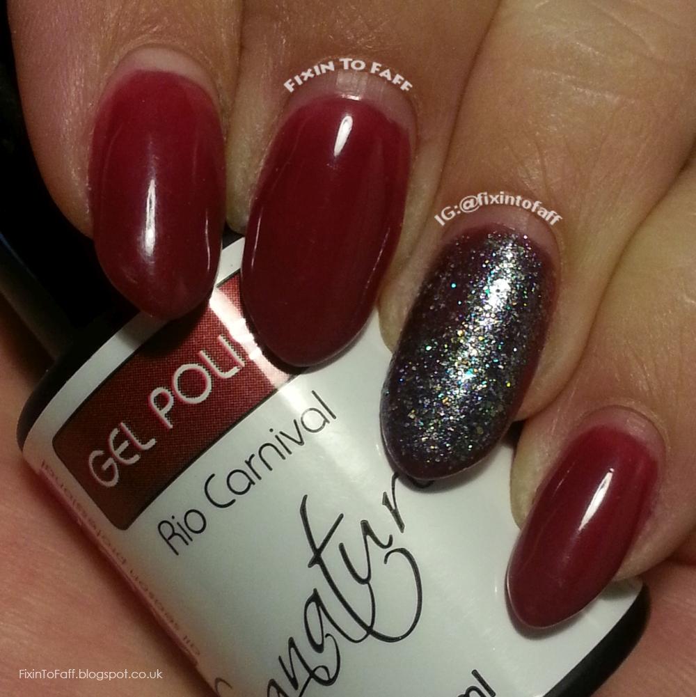 ASP Rio Carnival gel polish manicure