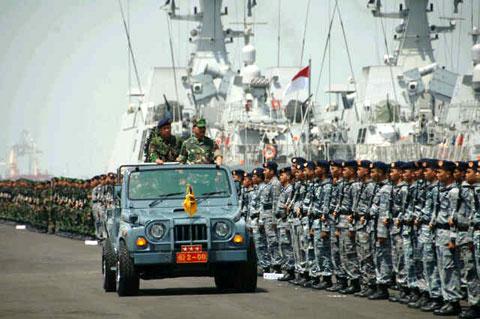 Pembentukan Armada RI Kawasan Tengah (Armateng) Selesai 2014